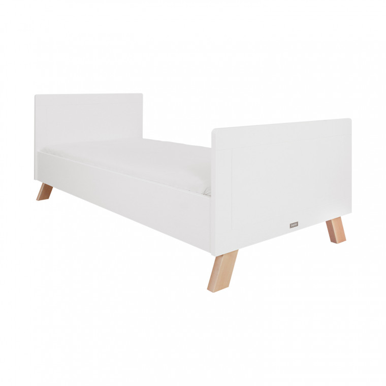 Bopita Lisa Bed Wit / Naturel 90 x 200 cm