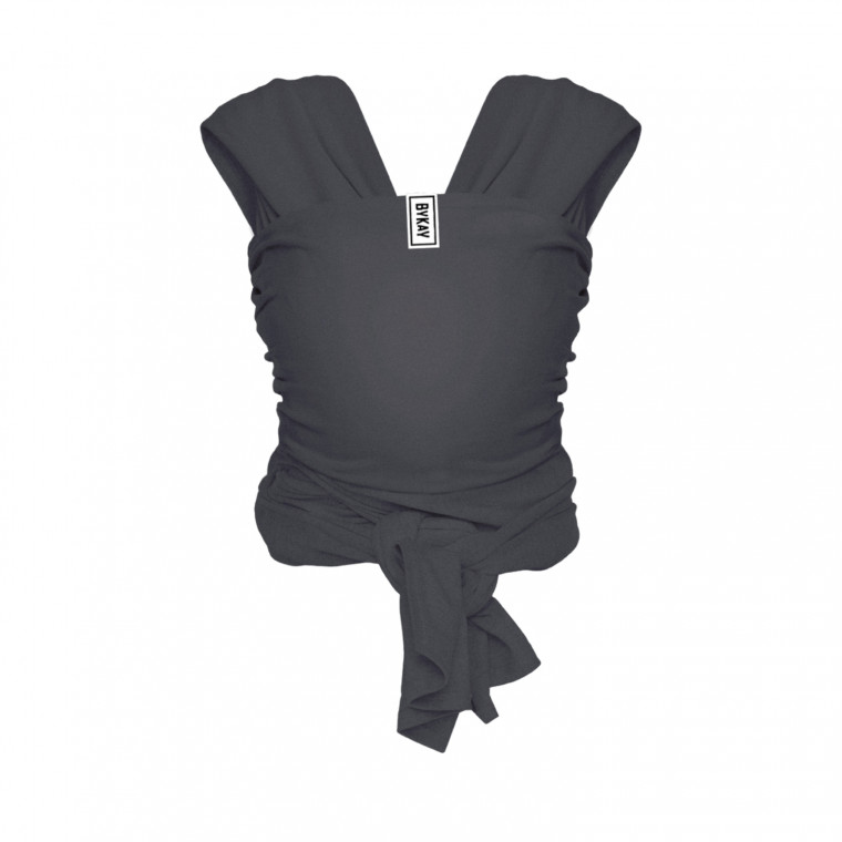 ByKay Stretchy Deluxe Draagdoek Anthracite M