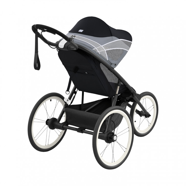 Cybex Avi Jogging Kinderwagen Compleet All Black