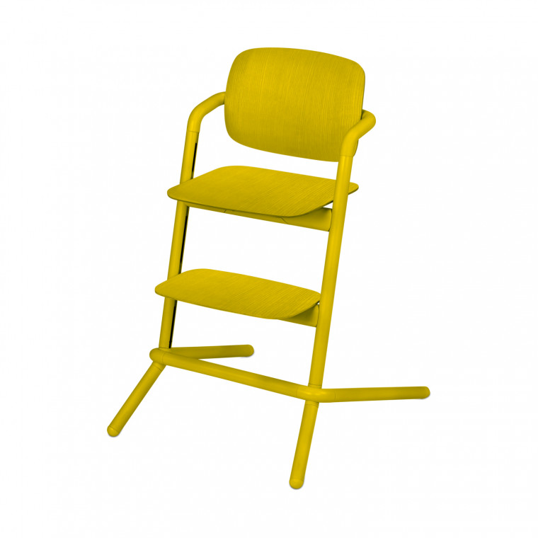 Cybex Lemo Wood Kinderstoel Canary Yellow