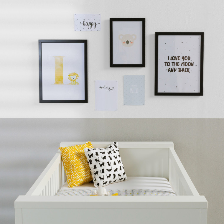 Kidsmill Brent Babykamer Wit   Bed Incl. Lade 70 x 140 cm + Commode