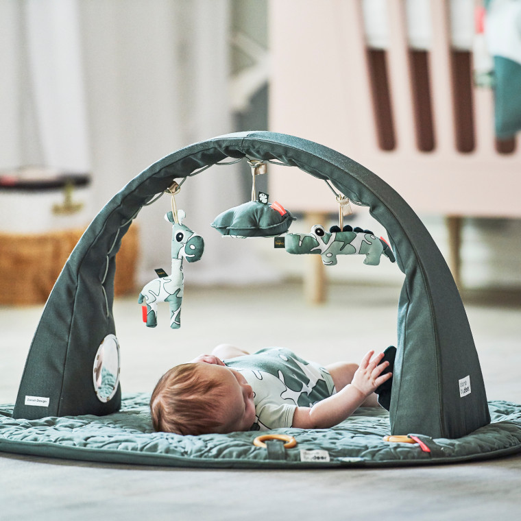 Done By Deer Tiny Tropics Baby Gym
