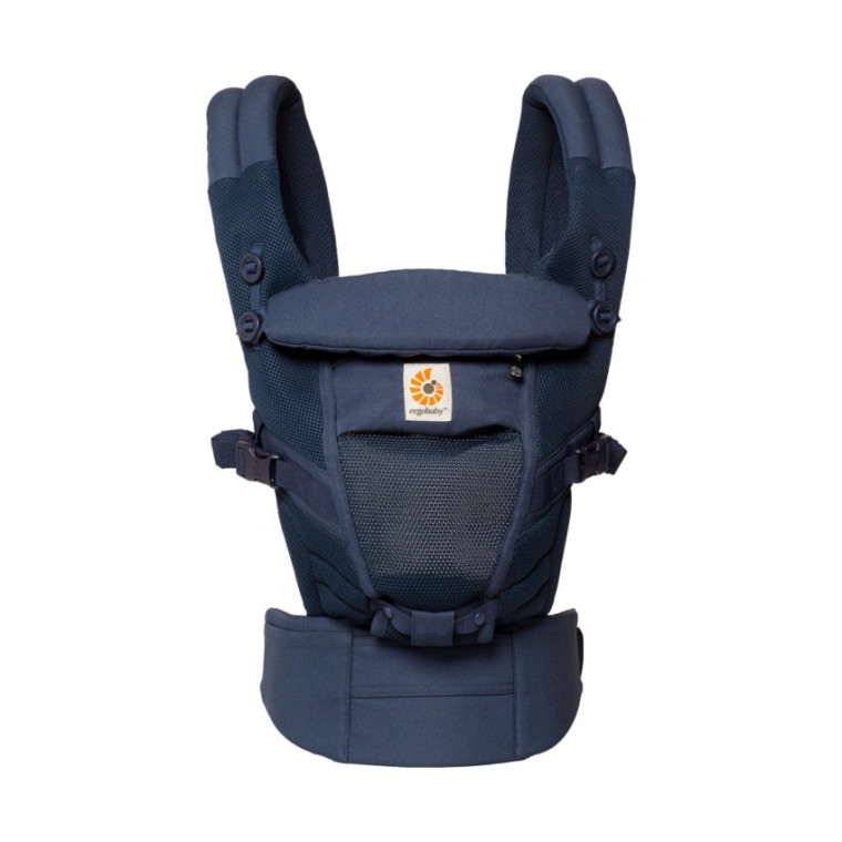 Ergobaby Adapt Cool Air Mesh Draagzak Deep Blue