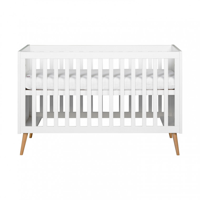 Europe Baby Sterre Babykamer Wit | Bed 60 x 120 cm + Commode