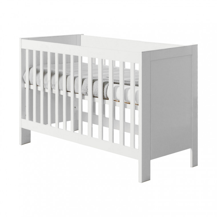 Europe Baby Sylt Babybed Wit 70 x 140 cm