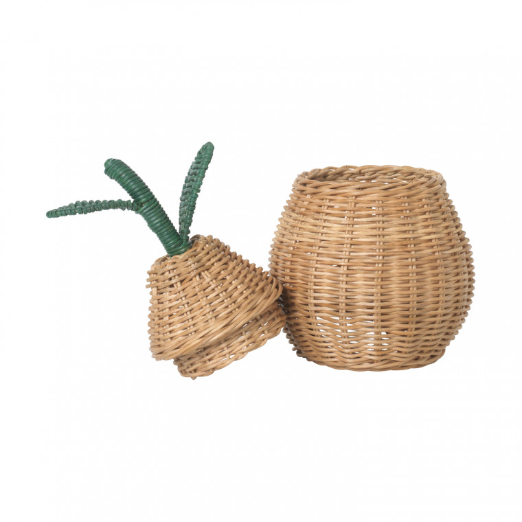 Ferm Living Apple Braided Opbergmand Small Natural