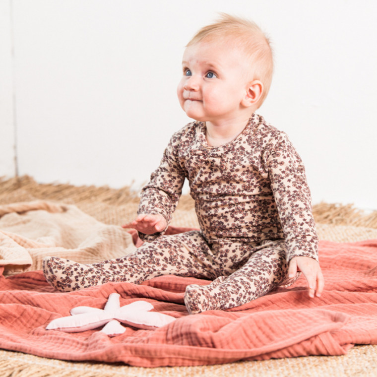 House of Jamie Dragonfly Rattle Toy Powder Pink