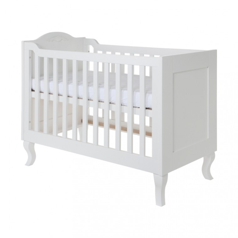 Kidsmill Romance Babykamer Wit | Bed 60 x 120 cm + Commode