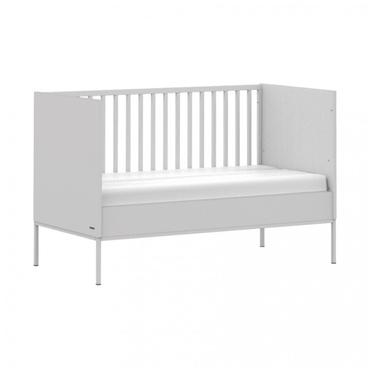 Kidsmill Amy Babykamer Grijs | Bed 70 x 140 cm + Commode Smal + Kast