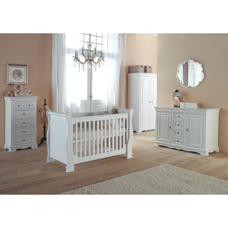 Kidsmill Louise de Philippe Babybed Wit 60 x 120 cm