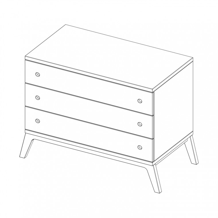 Kidsmill Liv Commode Naturel
