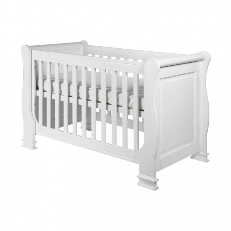 Kidsmill Louise de Philippe Babykamer Wit | Bed 60 x 120 cm + Commode + Kast