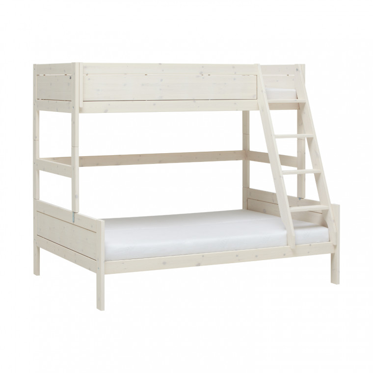 Life Time Stapelbed Family Luxe Whitewash 140 x 200 cm