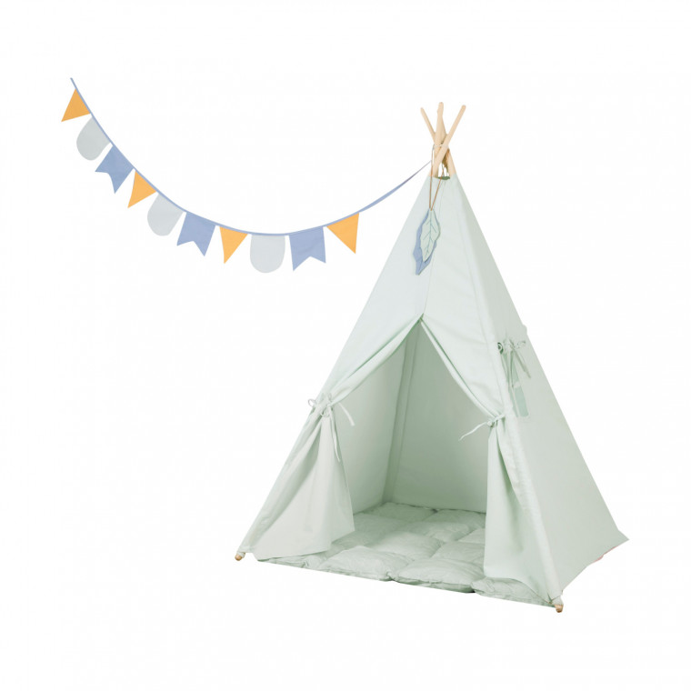 Little Dutch Tipi Tent Mint