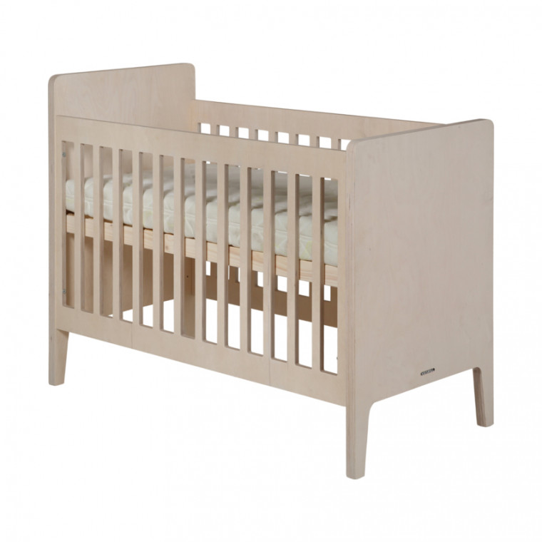 Kidsmill Liv Babykamer Naturel | Bed 70 x 140 cm + Commode + Kast