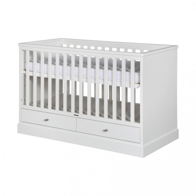 Kidsmill Newport Babybed Wit 70 x 140 cm