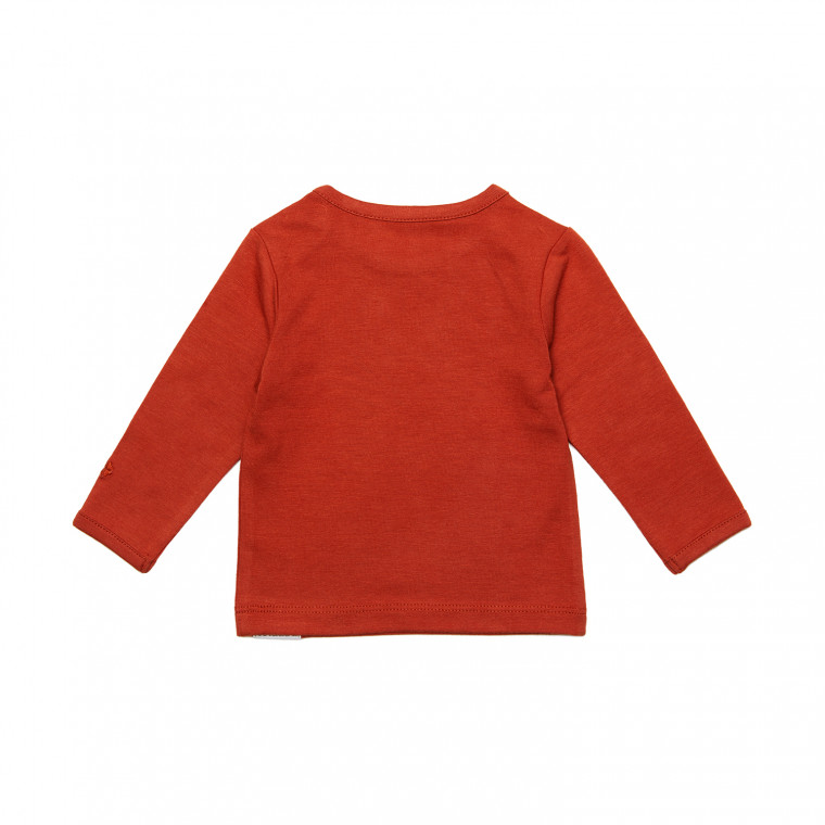 Noppies Hester Longsleeve Spicy Ginger Mt. 50
