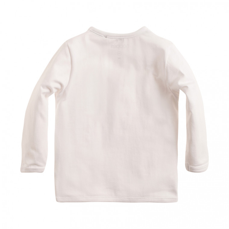 Noppies Longsleeve Little White Mt 56 achterkant