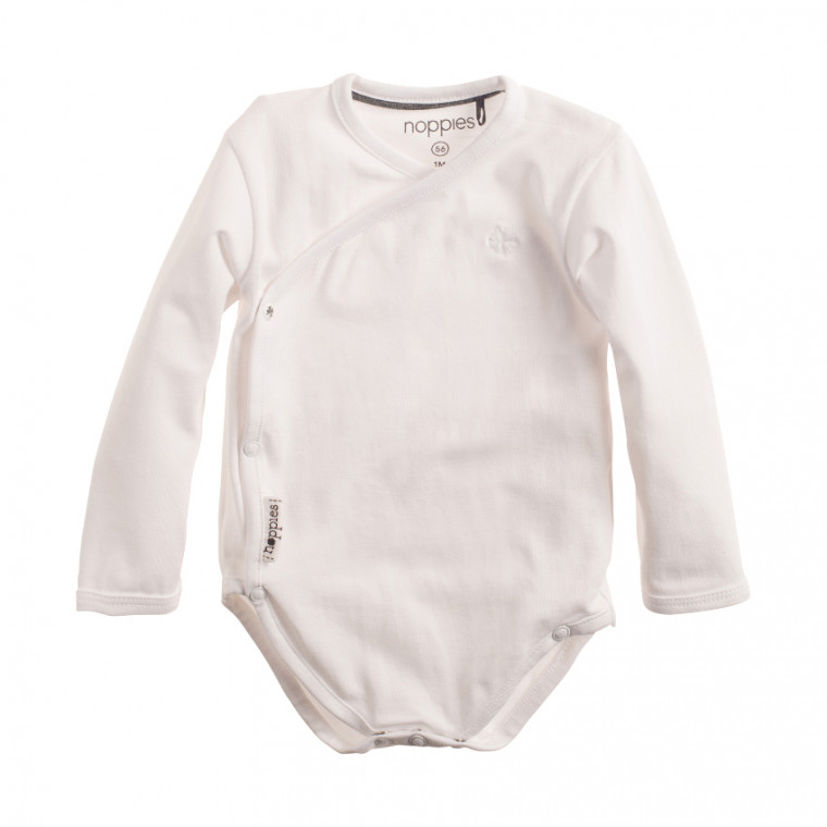 Noppies Romper Ziara White Mt 56