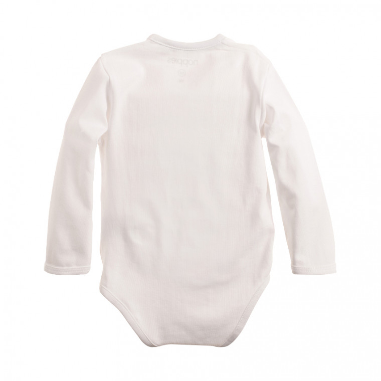 Noppies Romper Ziara White Achterkant Mt 62