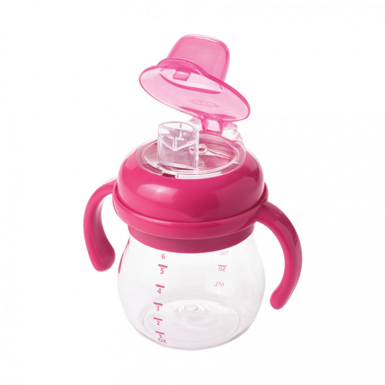 OXO Tot Transitions Zachte Tuitbeker Pink