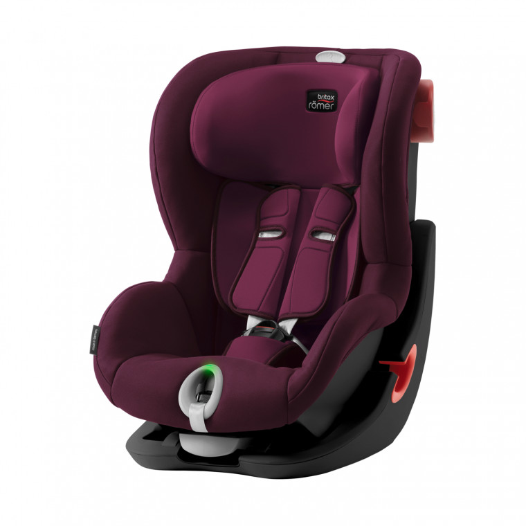 Römer King II LS Black Series Autostoeltje Burgundy Red