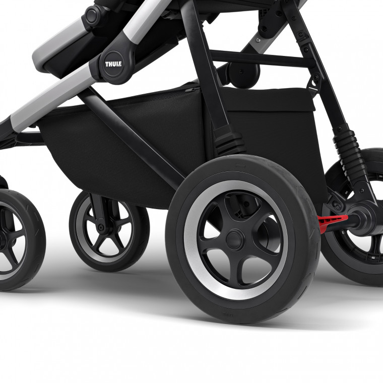 Thule Sleek Kinderwagen Midnight Black Pack