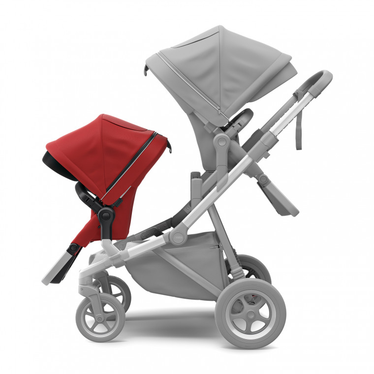 Thule Sleek Tweede Zitje Energy Red