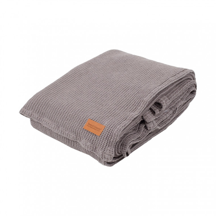 Town & Country Dexter Sprei Taupe 180 x 260 cm