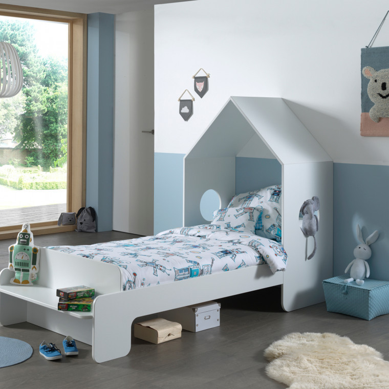 Vipack Casami Huisbed Wit 90 x 200 cm-sfeer