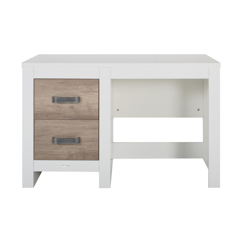 tienerkamer long island wit ledikant bureau babypark. Black Bedroom Furniture Sets. Home Design Ideas