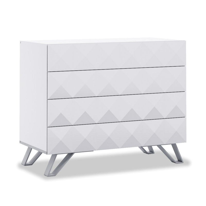 Alondra Commode Diamonds Blanco