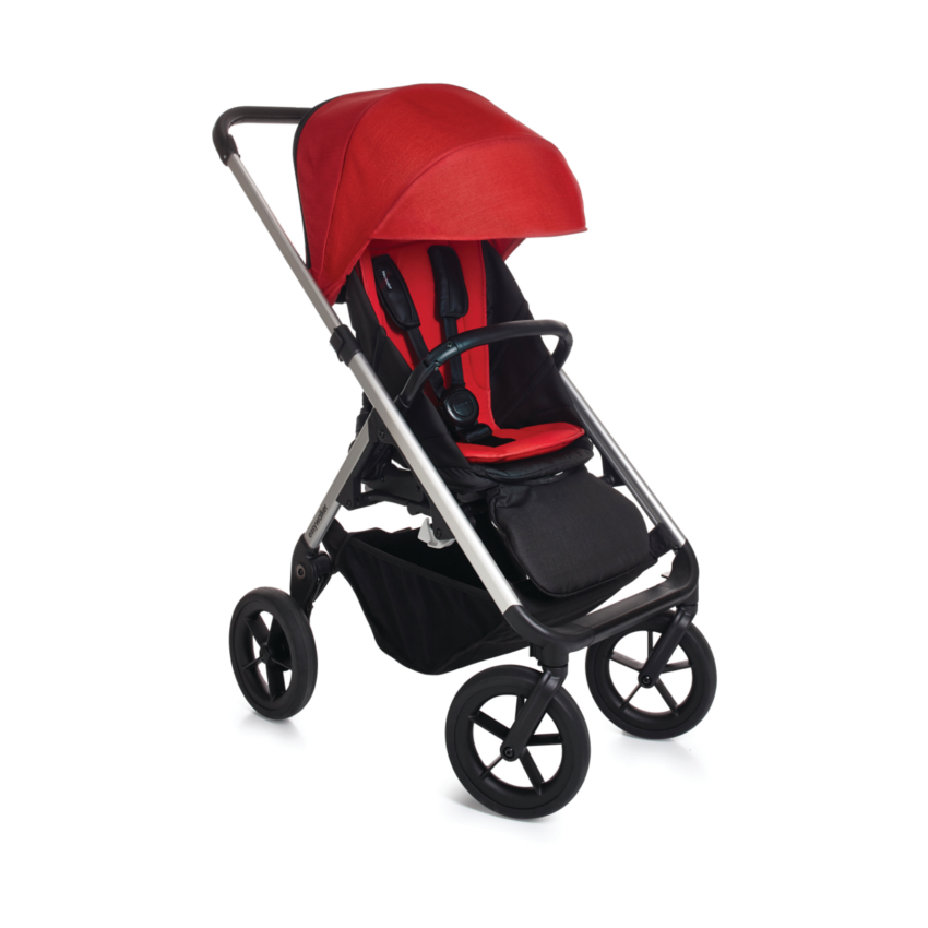 Easywalker Mosey Silver - London Red