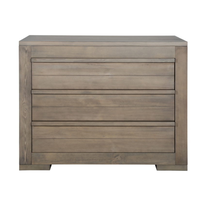 Grey Wood Commode