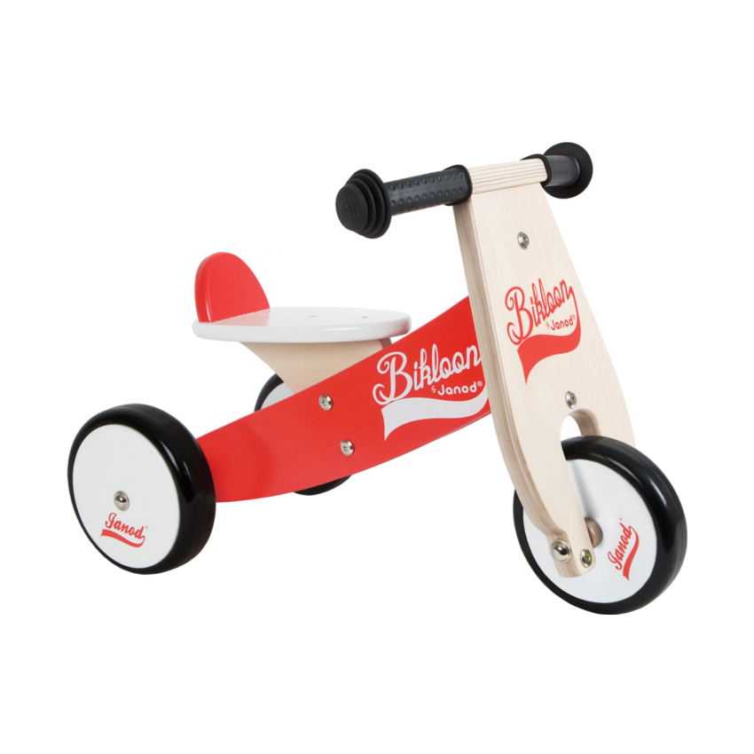 Janod loopfiets little bikloon rood