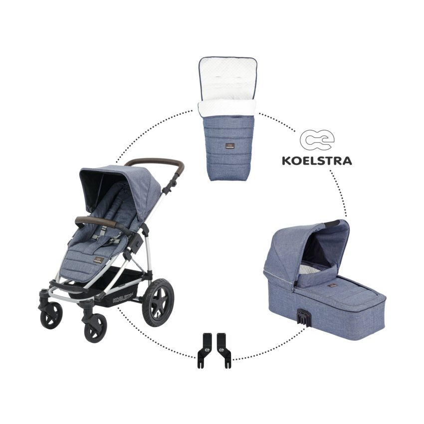 Koelstra Binque Daily Blauw Lederlook Pack