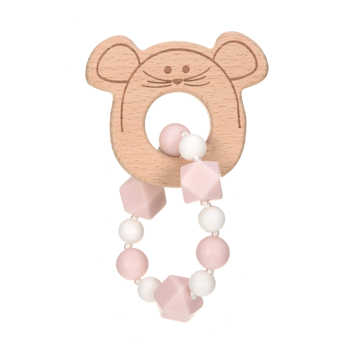 Laessig Little Chums Bijtring Armband Mouse