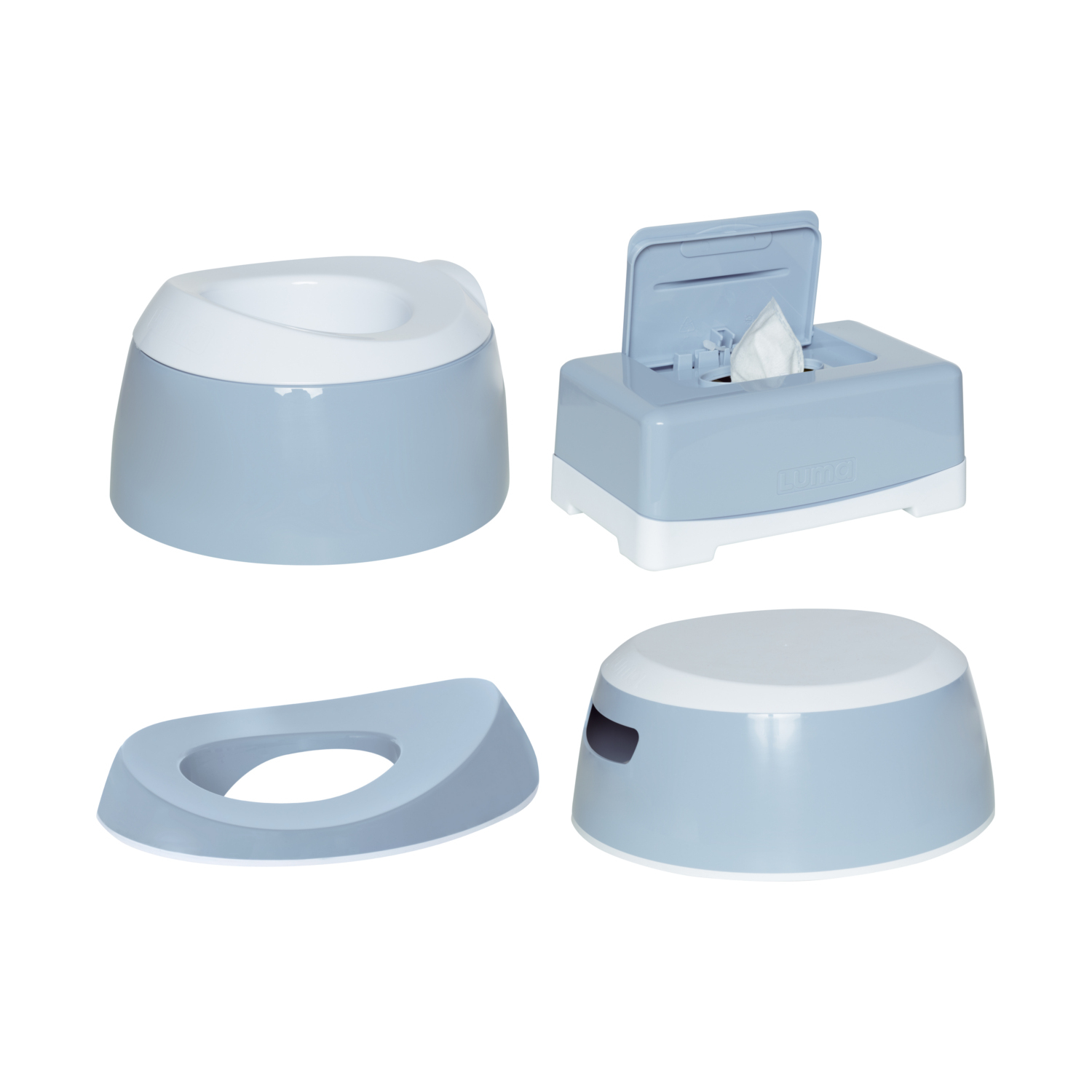 Luma Toilet Trainingsset Celestial Blue