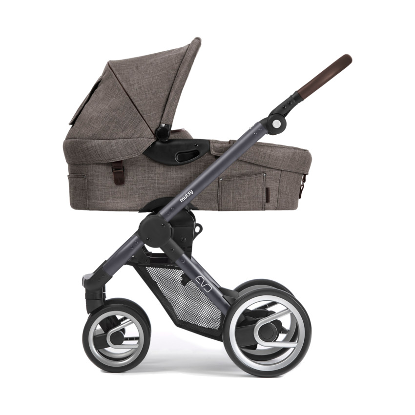 Mutsy Evo Farmer Kinderwagen Dark Grey