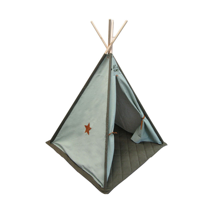 Overseas Tipi Tent Canvas Luxe Olive / Ice