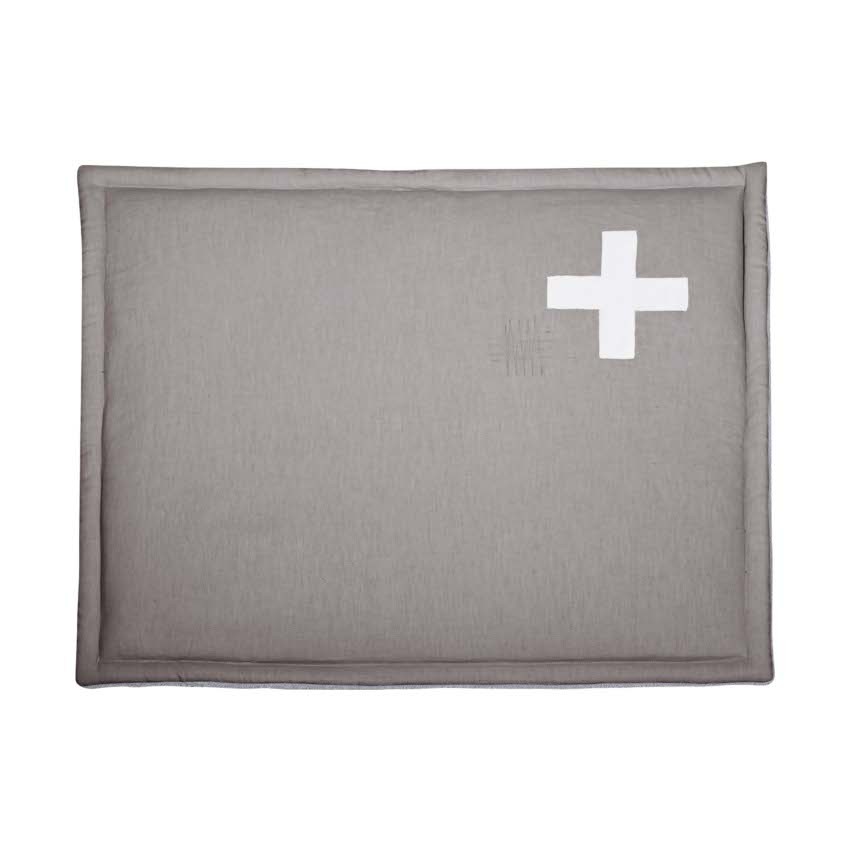 Stapelgoed Boxkleed Xs Cross Grey