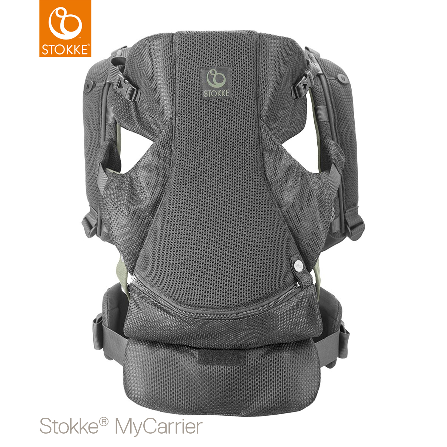 Stokke® MyCarrier™ Front And Back Draagzak Green Mesh