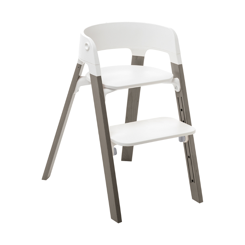 Stokke® Steps™ Kinderstoel Beach Wood Hazy Grey