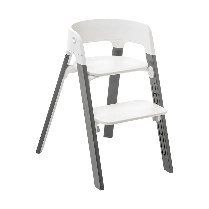 Stokke® Steps™ Kinderstoel Beach Wood Storm Grey