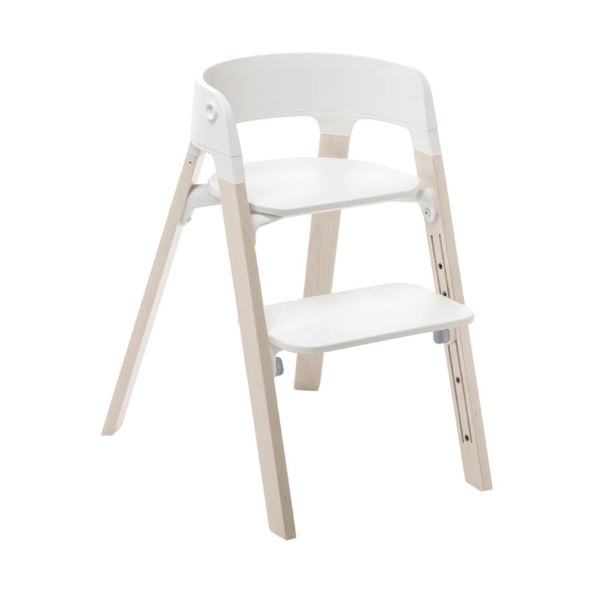 Stokke® Steps™ Kinderstoel Beach Wood White Wash