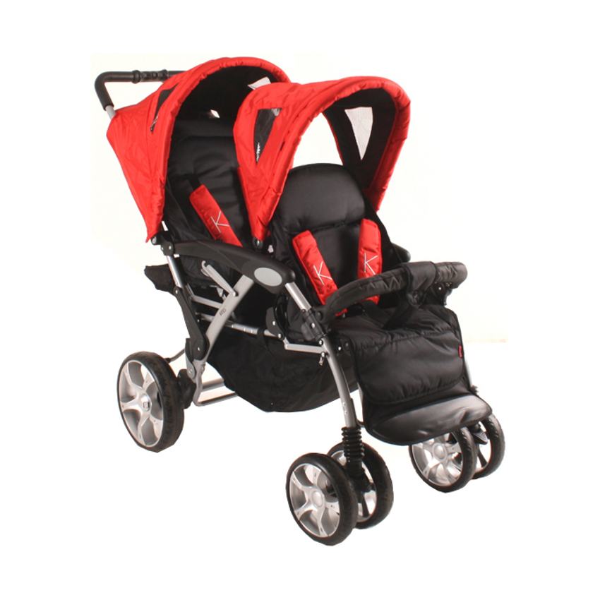 Kees Tandem Luxe Red-Black
