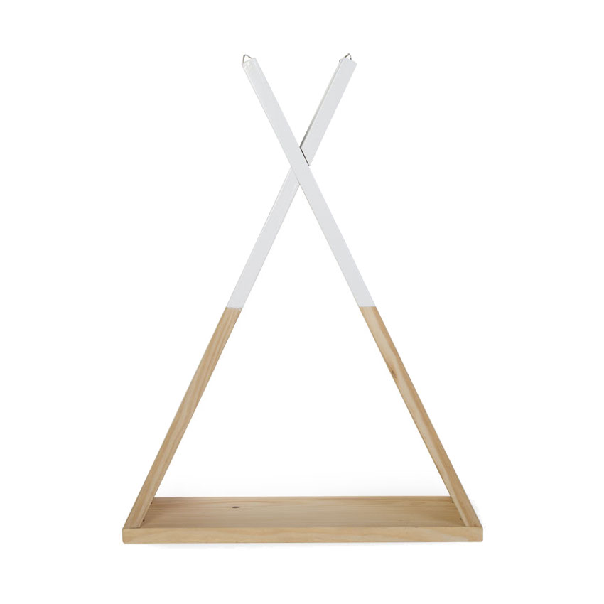 Childwood Tipi Wandrek Naturel Wit
