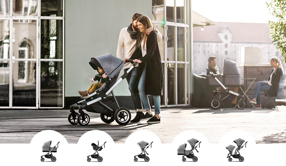 Thule Sleek kinderagen