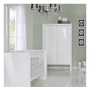 Babykamer kopen grote collectie babykamers babypark - Taupe kamer en wit ...